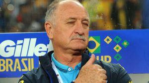 Brasiliens landslagstränare Scolari
