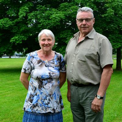Lisbeth Östman och Rafael Frantz