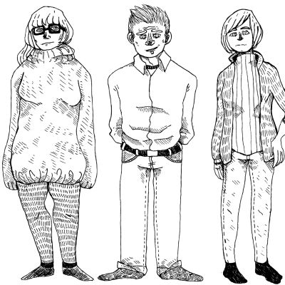 Jonna, Miko ja Katri