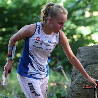 Amy Nymalm på VM 2021.
