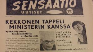 Sensaatio uutiset lehti
