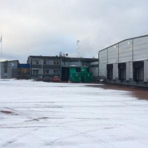 Chipsfabriken i Haraldsby på Åland.