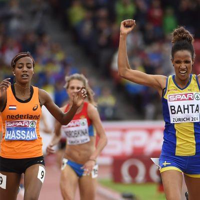 Meraf Bahta vinner EM-guld