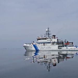 Sjöbevakningens fartyg Uisko.