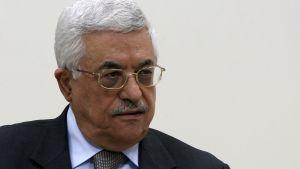Palestiniernas president Mahmud Abbas