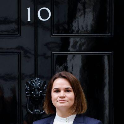 Svetlana Tichanovskaja i London 3.8.2021