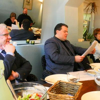 Bo Kronqvist, Henri Sigfridsson och Monica Johnson.