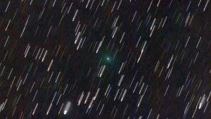 Komeetta C/2019 Y4 kuvattuna 1. maaliskuuta 2020.
