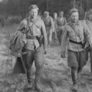 Vammeljärven motista vetäydytään 14.6.1944