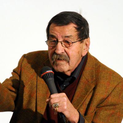 Den tyske författaren Günter Grass.