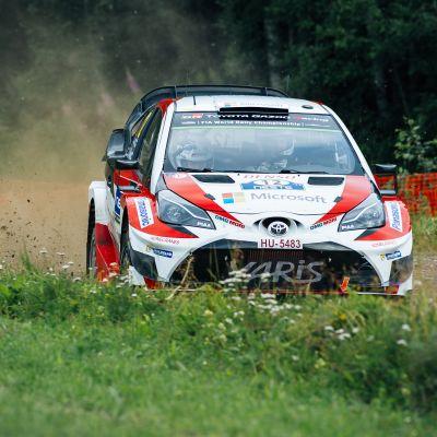 Esapekka Lappi vann Finlands VM-rally.