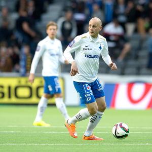 Daniel Sjölund, IFK Norrköping, juni 2015.