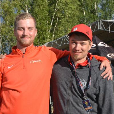 Seppo och Juha.