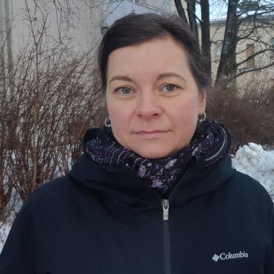 Porträttbild av Karin Ljung-Hägert.