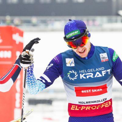 Jarl-Magnus Riiber ja Ilkka Herola