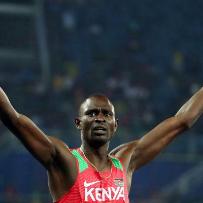 David Rudisha under OS i Rio.