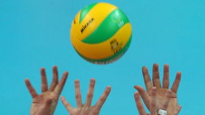 Volleyboll.
