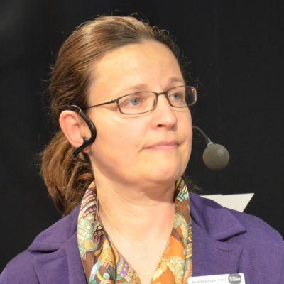 Sveriges gymnasie- och kunskapslyftsminister Anna Ekström.