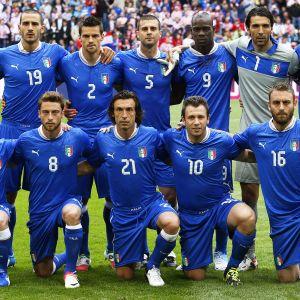 Italien piskat att vinna mot Irland.