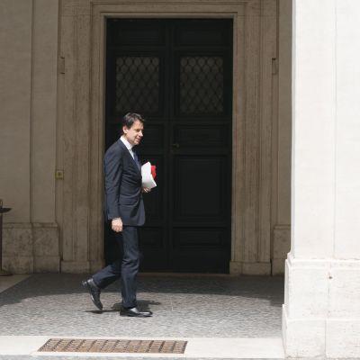 Tuleva pääministeri Giuseppe Conte