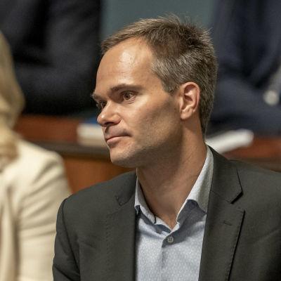Kai Mykkänen eduskunnassa 12.9.2019