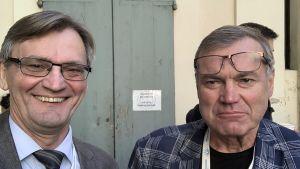 Per-Henrik och Leif Groop. Bröder och diabetesforskare.