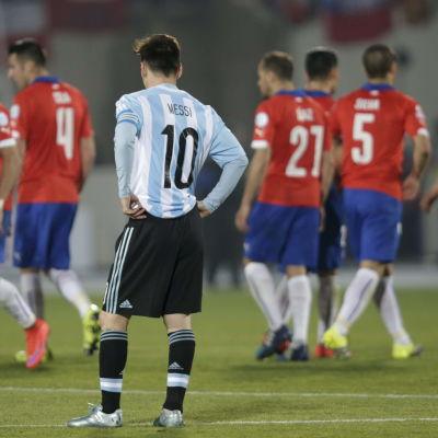 Lionel Messi, Copa America, juli 2015.