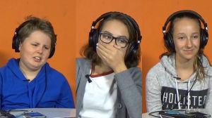 Barn reagerar på finlandssvensk musik