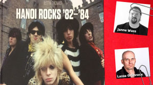 Bokrecension på Justin Thomas fotobok Hanoi Rocks 1982-1984