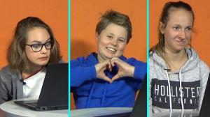 Tre barn reagerar på progressiv rock