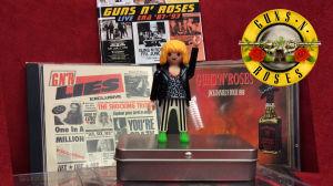 Rockpolisernas Playmobil-gubbe gillar Guns and Roses