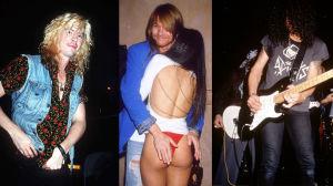 Duff, Axl och Slash 1991