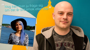 Stefan Nordgren funderar på artisten Sanni