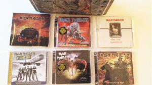 Liveskivor av Iron Maiden på cd