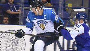 VM-räven Marko Anttila är lagkapten för det finska laget.