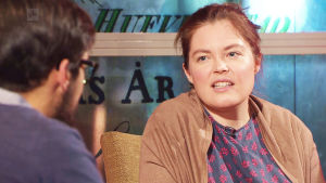Forskaren Pia Mikander på Yle Fems litteraturfest