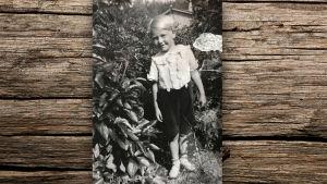 Per-Erik Lönnfors som barn