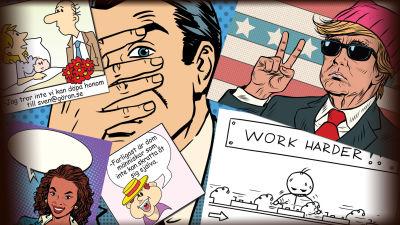 Gratis berömda tecknad serie sex serier