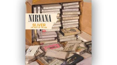 Nirvana Sliver konvolut med många demokassetter.