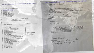 Spencer Aldens åtalshandlingar mot Nirvana.