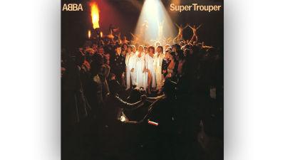 ABBA Super Trouper omslag.