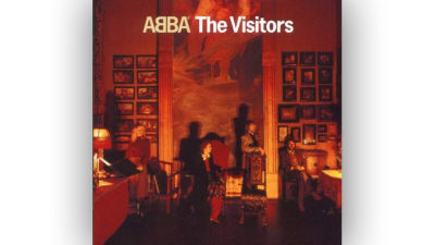 ABBA The Visitors omslag.