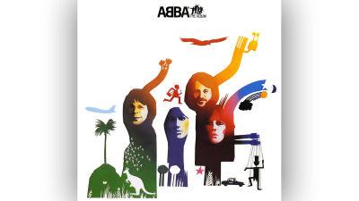 ABBA The Album omslag.