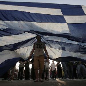 Demonstration i Aten