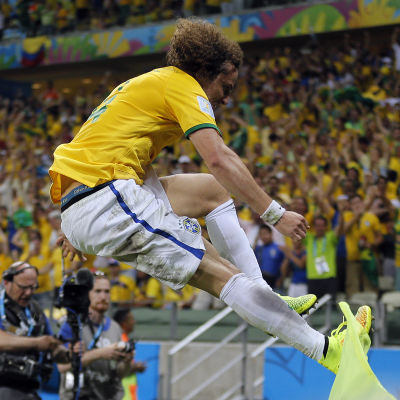 David Luiz gjorde segermålet mot Colombia