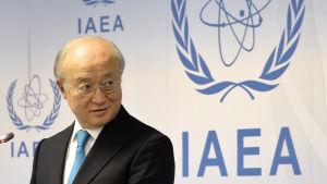 IAEA:s generalsekreterare Yukiya Amano.