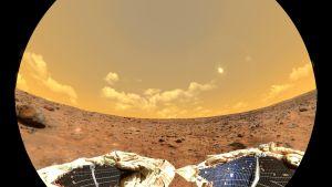 näkymä Mars-planeetalta