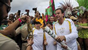 OS-elden når Maracana-stadion på fredag