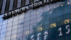 Lehman Brothers fasad 15 september 2008