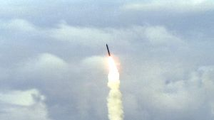 En amerikansk Minuteman III-missil